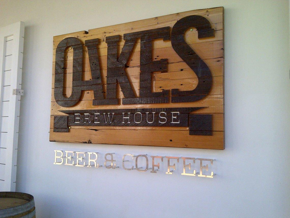 Oakes signage