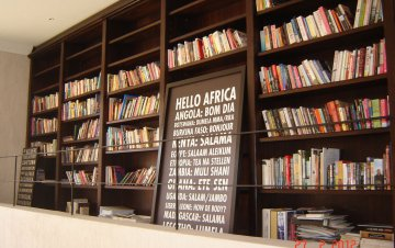 Stained Mahogany Bookcase