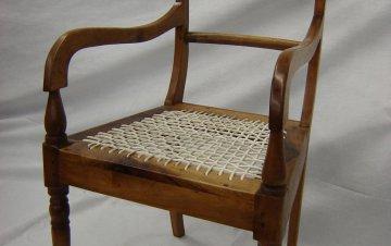 Stinkhout stoel
