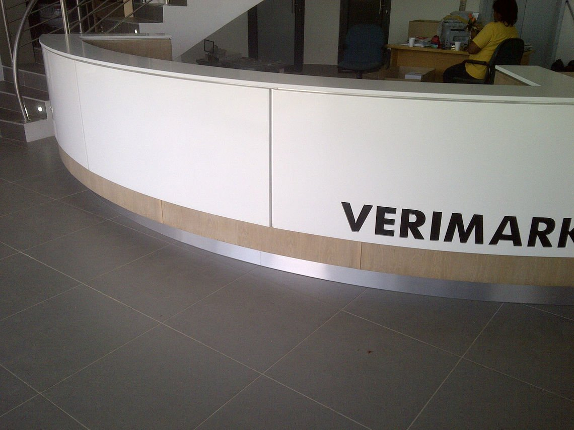 Verimark Head Office Reception 1